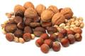 Aszalt és kemény héjú gyümölcsök (mogyoró, dió)