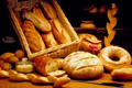 Gabonafélék, pékáruk, búzacsíra