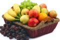 Gyümölcsök (citrom, füge, alma)